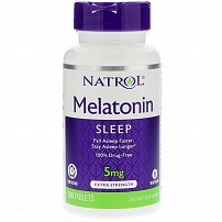 Natrol Melatonin 5 mg 100 капс